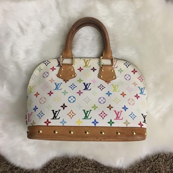 Louis Vuitton Handbags - Authentic Louis Vuitton Alma Multicolor Bag Purse